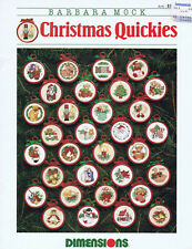 """Stickvorlage """"Christmas Quickies"""" / Dimensions"""
