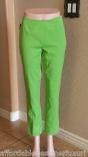 "Peace of Cloth ""Lisa"" Pleated Ankle Pants, Apple Green  Sz 2 Retail $160"
