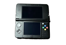 New Nintendo 3ds Super Mario Black Edition W/ Charger Used But In Good Condition