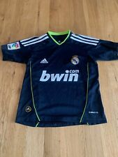 Real Madrid Camisa-UK 7-8 años-Away Camiseta 2010-2011