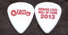 HEART 2013 Hall Of Fame Tour Guitar Pick!!! HOWARD LEESE custom concert stage #4