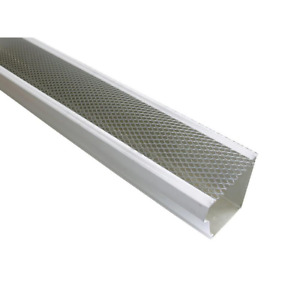 Spectra Metals 5 In. X 4 Ft. Armour Screen Lock-On Gutter Guard (25/Pro-Pack)