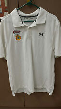 UNDER ARMOUR Men's White Heat Gear Shirt XL R. Lewis Event  Event 2013 Coors