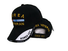 Black Korea Korean War Veteran Shadow Baseball Hat Cap 3D Embroidered Premium