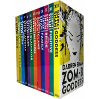 Darren Shan Zom-B series 12 Books Collection Set Goddess Angels Clans Paperback