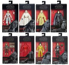 "Wave 14 Star Wars Black Series 6"" Last Jedi Brand New Case Set Snoke Jaina Solo"