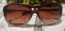 Oversized Oakley Vacancy Iced Latte Brown/VR50-Brown Gradient Sunglasses Women