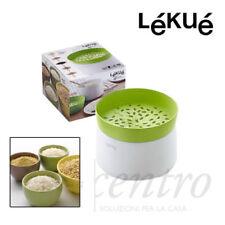 Lékué Cuoci riso e cereali in Silicone 100 per Forno Microonde
