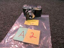 Vintage Voigtlander Vito II 2 35mm Film Folding Camera 1:3.5/50 Color Skopar