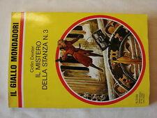 Il giallo n.2288 Colin Dexter - Il mistero della stanza n.3 1992 Mondadori