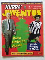HURRA' JUVENTUS N. 12 DICEMBRE 1997 UMBERTO AGNELLI EDGAR DAVIDS FRANCE 98