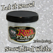 Lil' Daddy Roth Metal Flake - Snowblind White