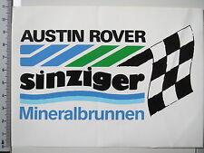 Aufkleber Sticker Austin Rover - Sinzinger Mineralbrunnen (2626)