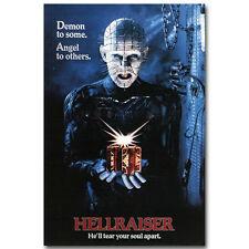 Hellraiser 1 2 Classic Horror Movie Silk Poster 12x18 24x36 inch