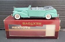 VINTAGE Rextoys Cadillac V16 1938-1940 Convertible 1/43  - W/ Original Box