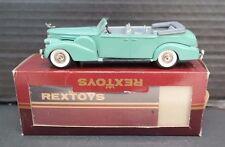 VINTAGE Rextoys Cadillac V16 1938-1940 Convertible 1/43  - W/ Original Box