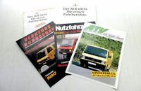 Mercedes Benz MB100D Prospekt 1988