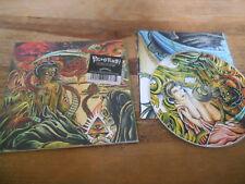 CD Punk Pulling Teeth - Paranoid Delusions (5 Song) Promo DEATHWISH REC cb