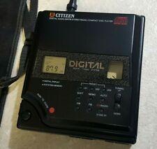 Vintage Citizen DIGITAL AM - FM RADIO Cd Player-JCD 4024 VERY RARE