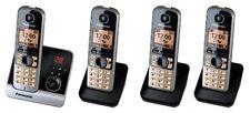 Panasonic Kx-tg6724 GB Schnurlostelefon avec Répondeur - 4 Combinés