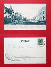 AK DOBERAN 1899 Strassenpartie mit Wohnhäusern  ( 36409