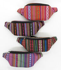Aztec Fanny Pack Guatemalan Waist Belt Bag Boho Tribal Colorful Festival Indian