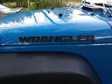 Jeep WRANGLER Decals Stickers Graphics 22x2  jeep 4x4 Off Road Banner TJ CJ YJ