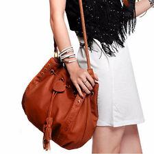Women Lady Leather Handbag Shoulder Bag Tote Purse Messenger Hobo  Bucket Bags