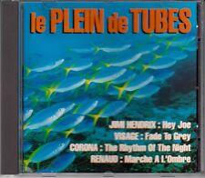 CD ALBUM COMPILATION RENAUD JIMI HENDRIX MURRAY HEAD MICHEL DELPECH CHARLEBOIS..