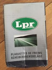 LPR 4 PLAQUETTE FREINS AVANT NEUF REF 05P231 RENAULT CLIO I, EXPRESS, R5 @ N1277
