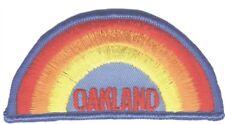 Vintage Oakland Patch - Rainbow (Iron on)