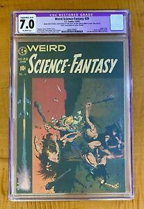 Weird Science Fantasy #29 - Classic Frazetta Cover! CGC 7.0 Restored