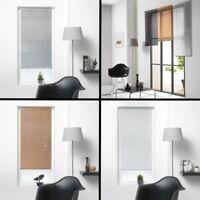 Plain Ready Made Aluminium 25mm Slats Venetian Window Blinds 40/50/60cm Widths