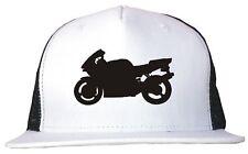 Sport Bike Motorcycle Logo Trucker Hat Cap Adjustable