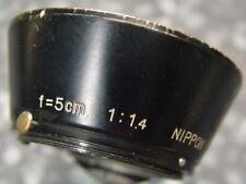 Nikon Rangefinder RF Black 5cm f1.4 Hood   #10