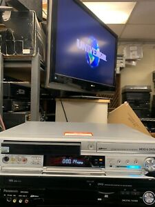 Vintage PANASONIC DMR EH75V VHS DVR 80GB HDD RECORDER  (No Remote) working