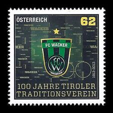 "Austria 2013 - Football Clubs ""FC Wacker Innsbruck"" Soccer Sports - Sc 2454 MNH"