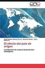 El efecto del país de origen: La intención de compra de productos extranjeros (S