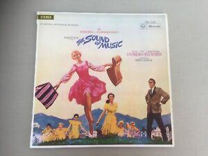 THE SOUND OF MUSIC Original Soundtrack Recording Vinyl LP