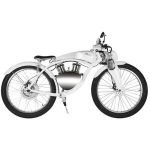 Munro 2.0 eBike 48V Luxury smart electric designer bike top speed 28 mph WHITE
