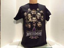 WWE WRESTLE MANIA #30 T-SHIRT(MED) BATISA-UNDERTAKER-CENA-LESNAR-THRIPLE H-BRYAN