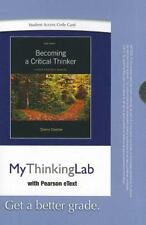 MyThinkingLab with Pearson eText -- Standalone Access Card -- for Becoming a Cr
