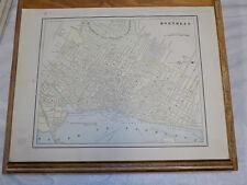 1891 CRAM Map//MONTREAL b/w DARTMOUTH & HALIFAX Canada