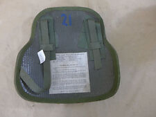 1x US Army vietnam back body armor Chicken plate large helicopter crew Flak Vest