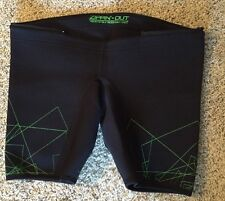JET PILOT Performance Ride Short Liner The Game Changer Black W/ Green RCP