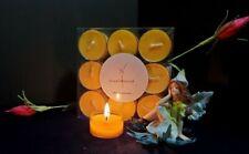 FRESH VANILLA * 100% Soy Wax Tealight Candles * (9) Tea Lights Tea Lites