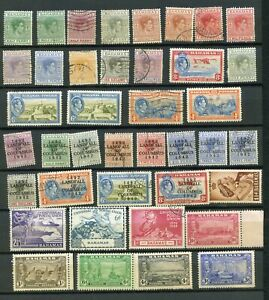 Postage Stamps Bahamas To 1953