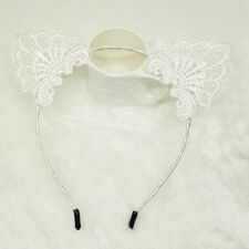 Exquisite Sweet Lace Cat Ears Headband Cat Cosplay Headbands