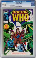 Doctor Who #1 (Oct 1984, Marvel) CGC 9.8 NM/MT 1st issue WHITE Pages