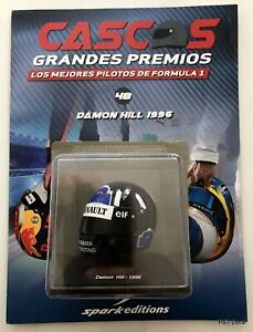 Damon Hill (1996) helmet collection 1/5 new sealed Discontinued